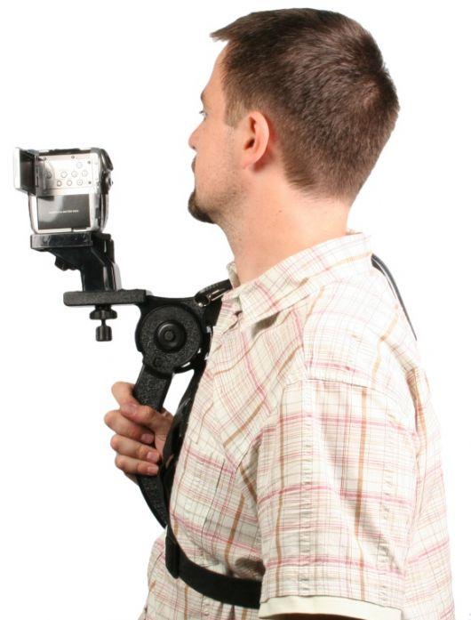 Grudni držač za video kamere