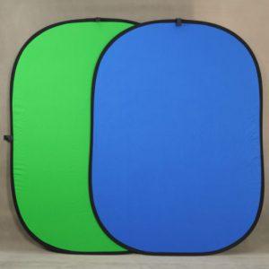 Zeleno/Plava